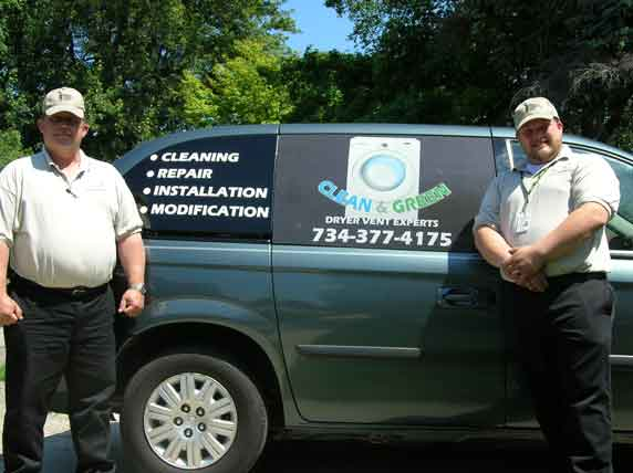 Michigan Dryer Vent Experts Clean And Green Dryer Vent